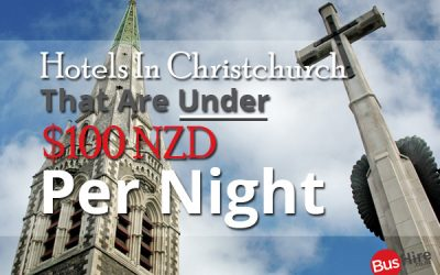 Hotels In Christchurch That Are Under $100 NZD Per Night