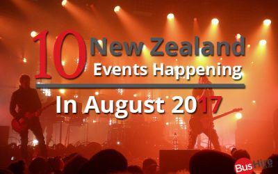 10 New Zealand Events Happening In August 2017
