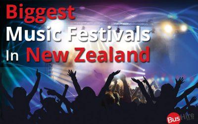 Biggest Music Festivals In New Zealand