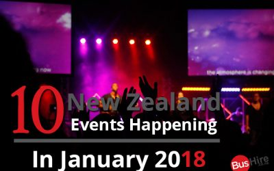10 New Zealand Events Happening In January 2018