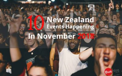 10 New Zealand Events Happening In November 2018